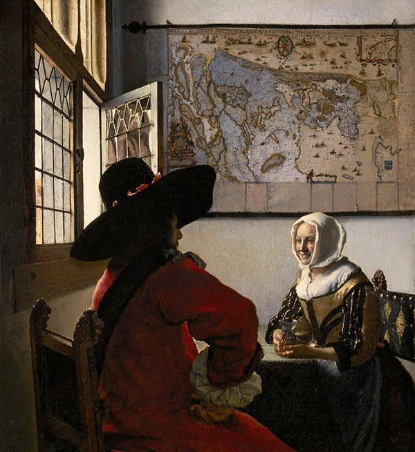 Vermeer-Officer-and-laughing-girl-600